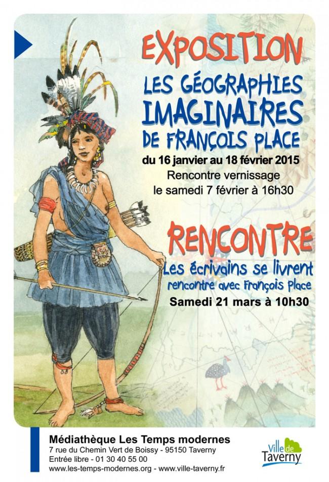 EXPOSITION À LA MÉDIATHÈQUE DE TAVERNY
