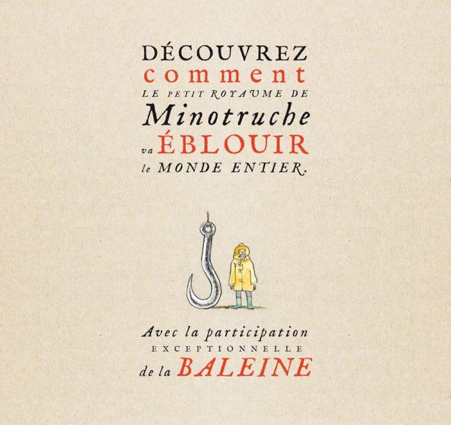Parution du Marquis de la Baleine