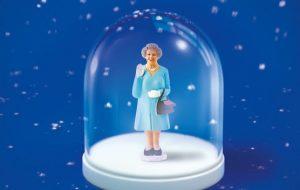 La reine sous la neige