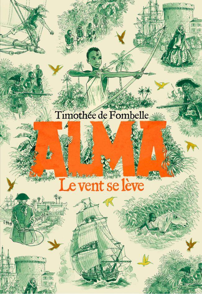 Alma, le roman de Timothée de Fombelle que j'ai illustré, a reçu le prix France Télévision et  le prix Gulli